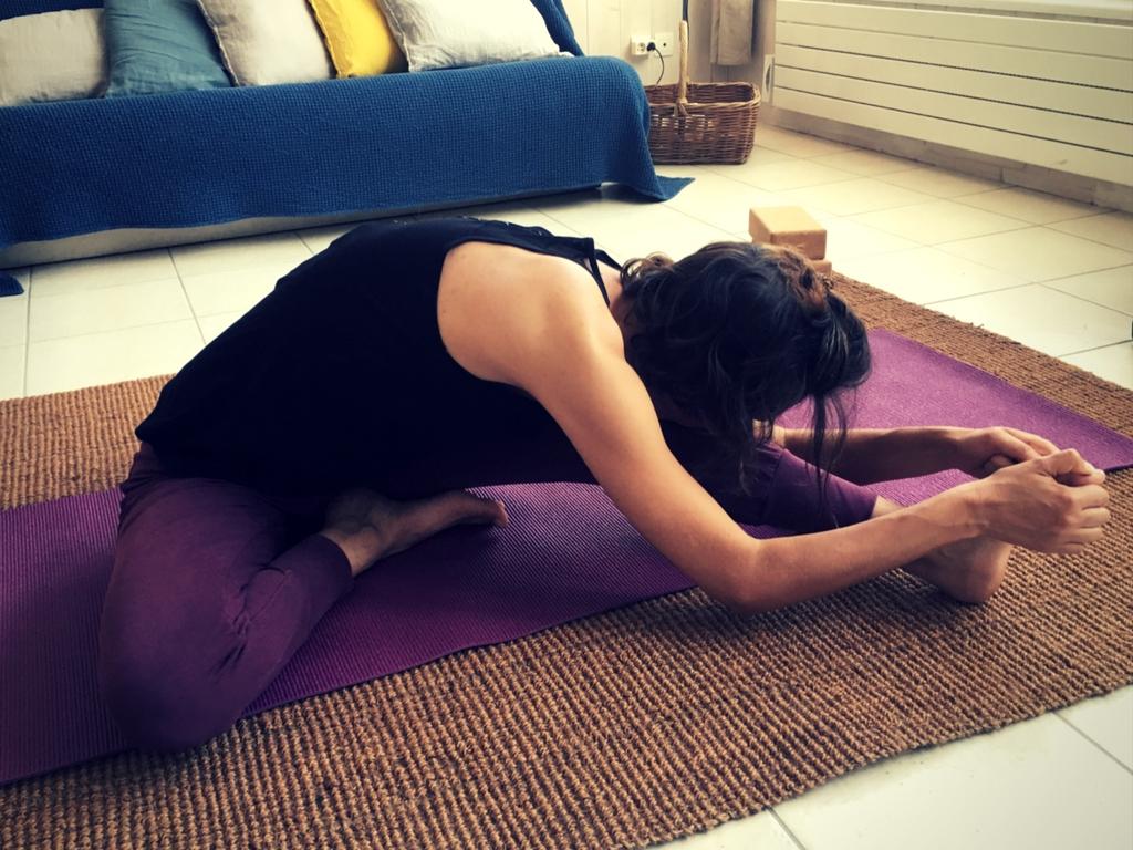 séance posture pince latérale