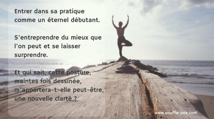 entrer pratique yoga