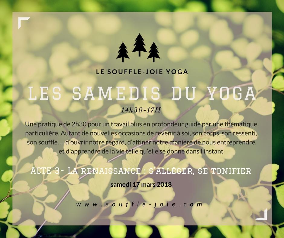 samedis yoga renaissance