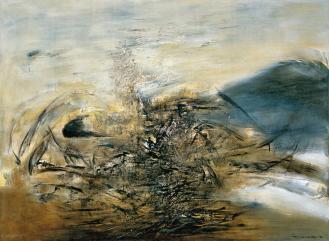 Zao Wou-Ki Hommage à Edgar Varese