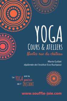 Cours yoga Nantes
